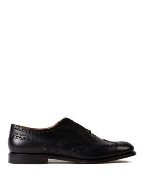Church's: lace-ups shoes - Burwood leather lace-up shoes
