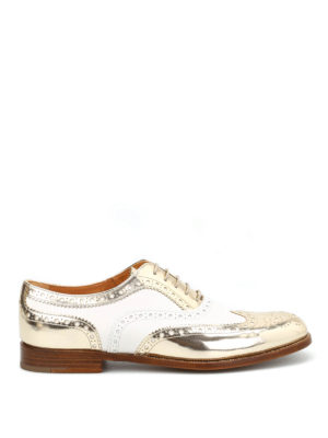 Church's: lace-ups shoes - Burwood two-tone Oxford shoes