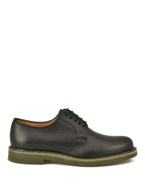 Church's: lace-ups shoes - Fulbeck grained leather Derby