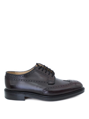 Church's: lace-ups shoes - Grafton leather Derby shoes