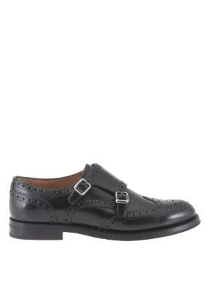 Church's: lace-ups shoes - Lana monk straps