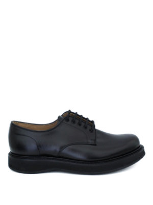 Church's: lace-ups shoes - Leyton smooth leather Derby