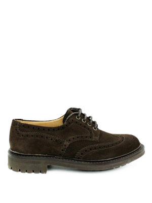 Church's: lace-ups shoes - Mcpherson suede Derby