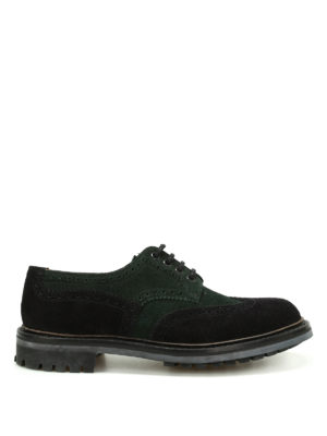 Church's: lace-ups shoes - McPherson two-tone suede shoes
