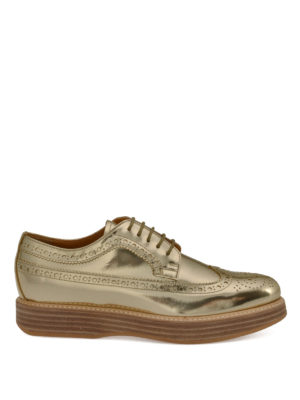 Church's: lace-ups shoes - Mirror leather Derby shoes