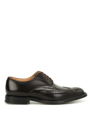 Church's: lace-ups shoes - Munich Capital leather shoes