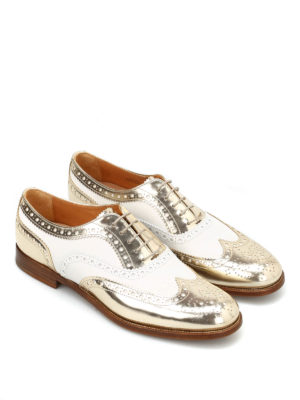Church's: lace-ups shoes online - Burwood two-tone Oxford shoes