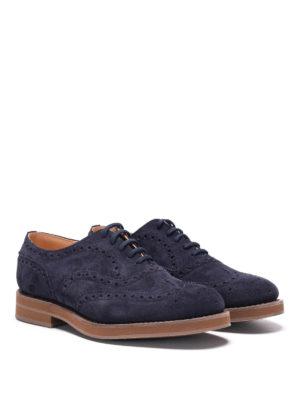 Church's: lace-ups shoes online - Downton suede lace-ups