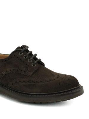 Church's: lace-ups shoes online - Mcpherson suede Derby