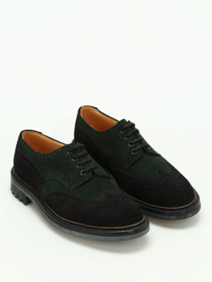 Church's: lace-ups shoes online - McPherson two-tone suede shoes