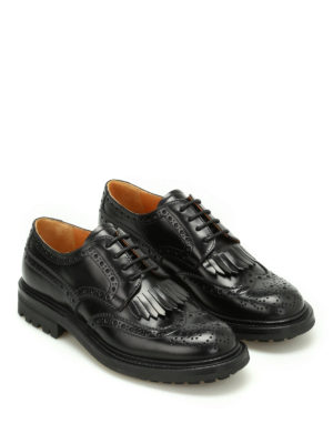 Church's: lace-ups shoes online - Priscilla fringed Derby brogues