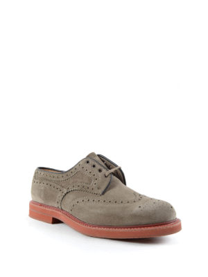 Church's: lace-ups shoes online - Riverton suede brogue shoes