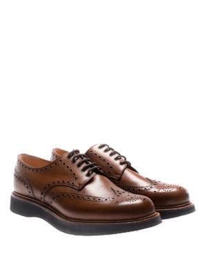 Church's: lace-ups shoes online - Tewin calfskin brogue Derby shoes