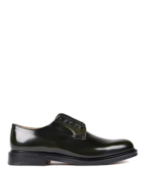 Church's: lace-ups shoes - Shannon military leather lace-ups