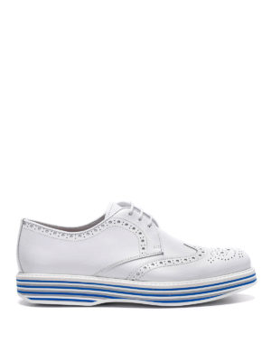 Church's: lace-ups shoes - Striped sole Derby brogue