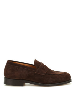 Church's: Loafers & Slippers - Darwin soft suede loafers
