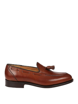 Church's: Loafers & Slippers - Kingsley 2 walnut tassel loafers