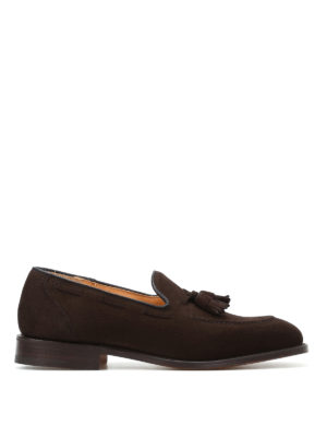 Church's: Loafers & Slippers - Kingsley suede loafers