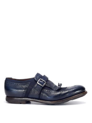 Church's: Loafers & Slippers - Leather monk-strap