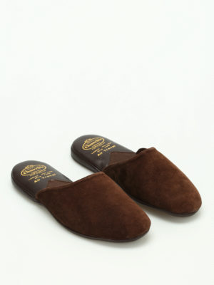 Church's: Loafers & Slippers online - Air Travel suede slippers