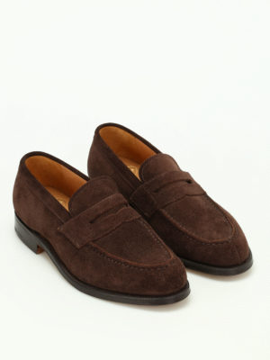 Church's: Loafers & Slippers online - Darwin soft suede loafers