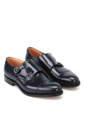 Church's: Loafers & Slippers online - Detroit smooth leather monk strap