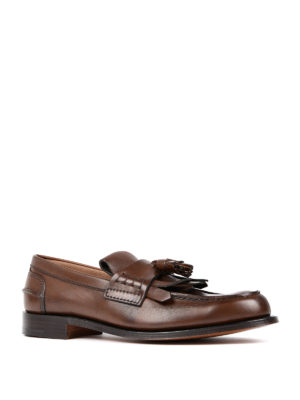 Church's: Loafers & Slippers online - Fringe and tassel leather loafers