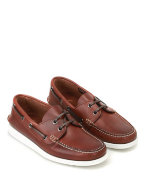 Church's: Loafers & Slippers online - Marske leather boat slippers