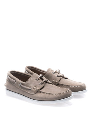 Church's: Loafers & Slippers online - Marske stone suede boat shoes