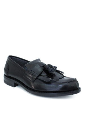 Church's: Loafers & Slippers online - Oreham leather loafers with fringe
