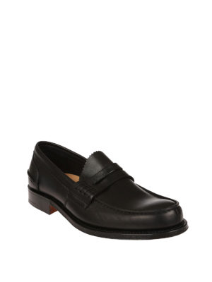 Church's: Loafers & Slippers online - Pembrey black leather loafers