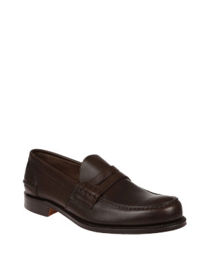 Church's: Loafers & Slippers online - Pembrey brown leather loafers