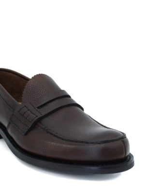 Church's: Loafers & Slippers online - Pembrey grain leather loafers