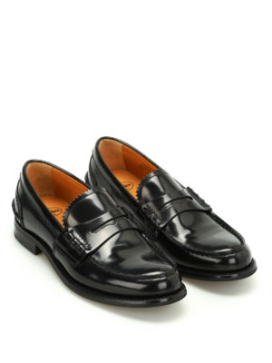 Church's: Loafers & Slippers online - Pembrey polished fumé loafers