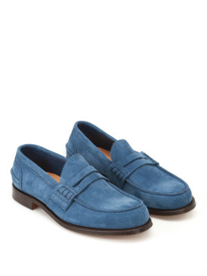 Church's: Loafers & Slippers online - Pembrey soft suede loafers