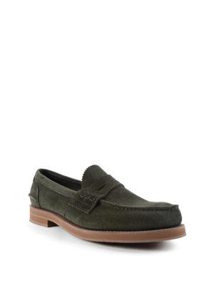 Church's: Loafers & Slippers online - Pembrey suede penny loafers