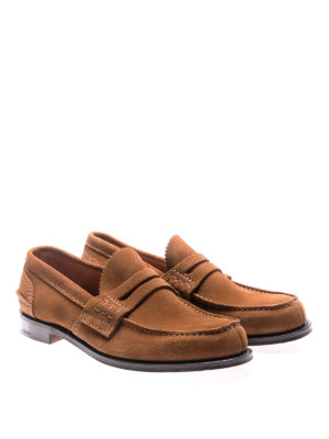 Church's: Loafers & Slippers online - Pembrey tabac suede loafers