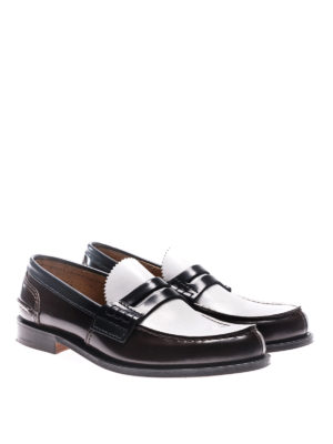 Church's: Loafers & Slippers online - Pembrey three-tone leather loafers