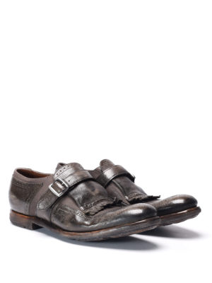 Church's: Loafers & Slippers online - Shangai vintage effect monk-strap