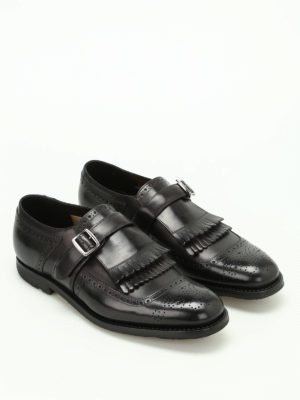 Church's: Loafers & Slippers online - Shanghai leather brogue monk straps