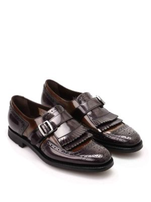 Church's: Loafers & Slippers online - Shanghai leather monk straps