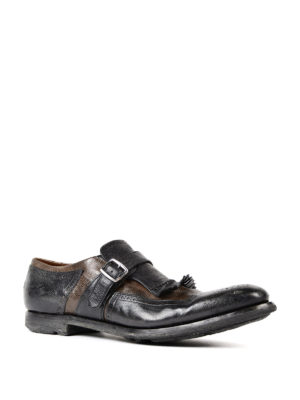 Church's: Loafers & Slippers online - Shanghai two-tone leather monkstrap