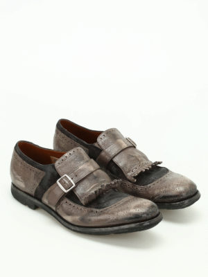 Church's: Loafers & Slippers online - Shanghai used leather monk straps