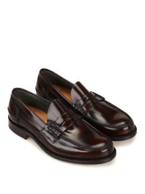 Church's: Loafers & Slippers online - Tunbridge ebony leather loafers