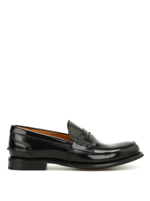 Church's: Loafers & Slippers - Pembrey polished fumé loafers
