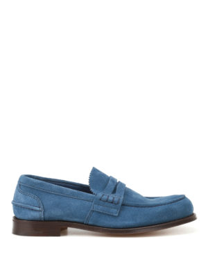Church's: Loafers & Slippers - Pembrey soft suede loafers