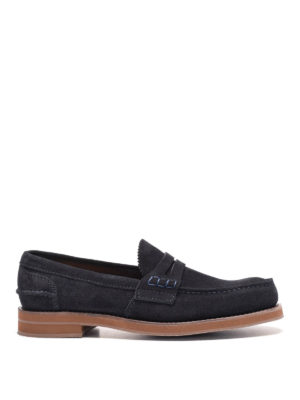 Church's: Loafers & Slippers - Pembrey suede penny loafers