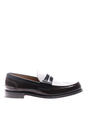 Church's: Loafers & Slippers - Pembrey three-tone leather loafers