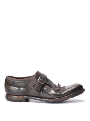 Church's: Loafers & Slippers - Shangai vintage effect monk-strap