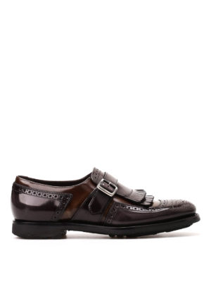 Church's: Loafers & Slippers - Shanghai leather monk straps
